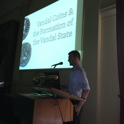 Jason Blockley of the University of Sydney presents on Vandal Coins and the Formation of the Vandal State