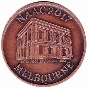One of only 38 NAAC2017 Medallions struck for the conference