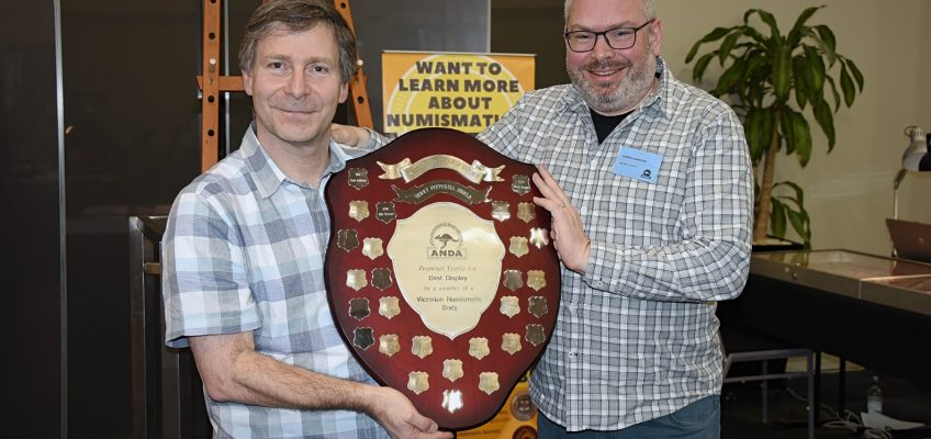 Presentation of the Terry Pepperell Shield
