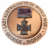 New Medallion Commemorates Centenary of Last Australian VC of World War I